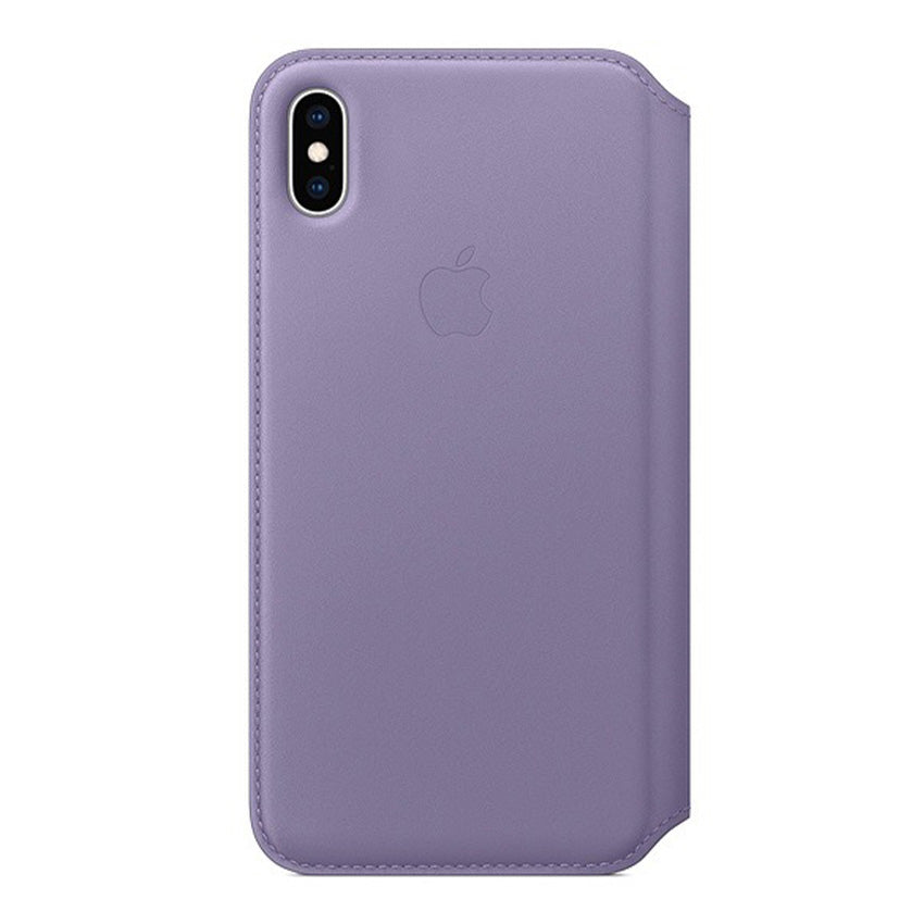 Apple iPhone XS Max Leather Folio Case Lilac-2