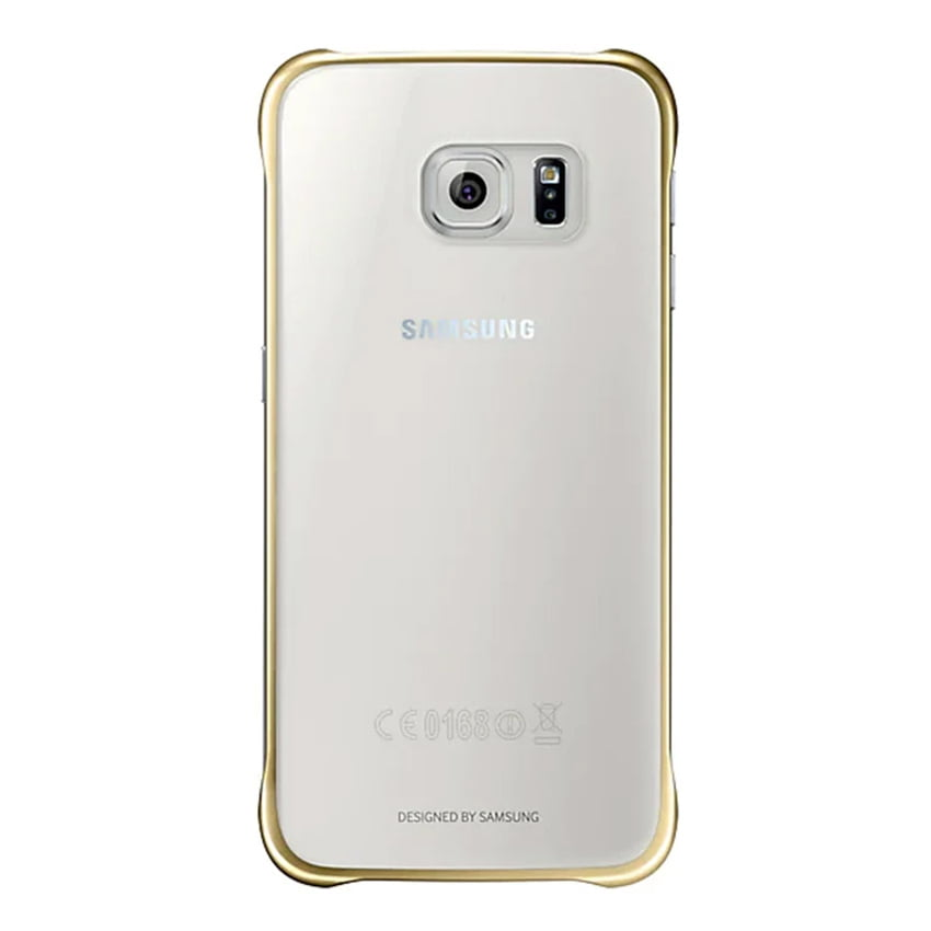 official-samsung-clear-cover-s6-gold