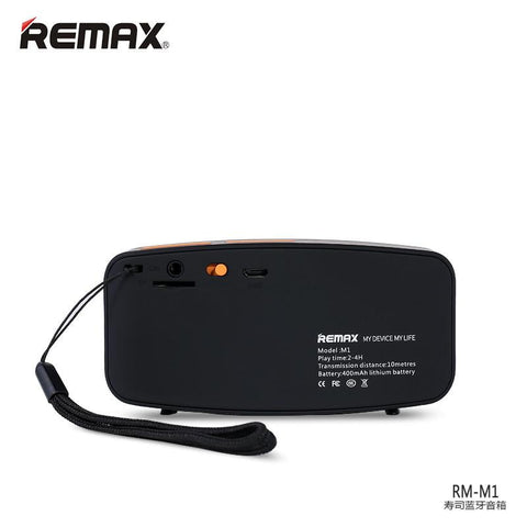 Remax Portable Fabric Bluetooth Speaker RM-M1 - Fonez