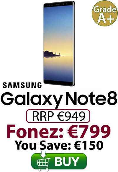 Samsung Galaxy Note 8 - Now €799