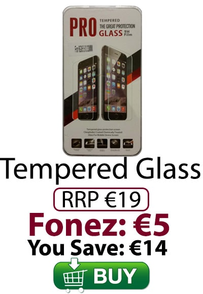 Tempered Glass - All €5