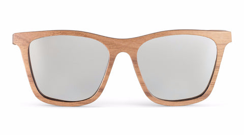Knight Silver SideRoot Wood Sunglasses