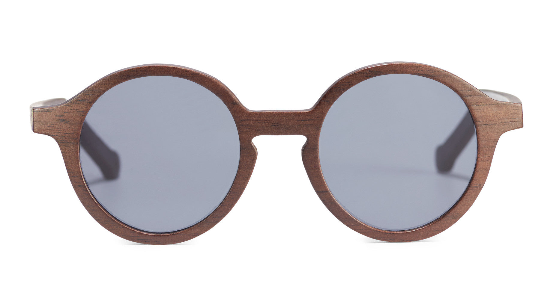 round wood eyeglasses prescription frame sideroot