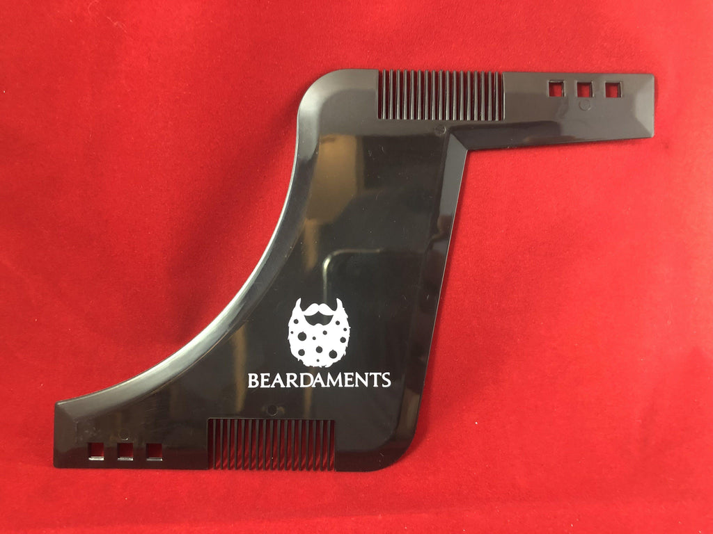 Beardaments All In One Beard Shaper Comb-Beard Shaper-Beardaments-Beardaments Beard Ornaments Glitter