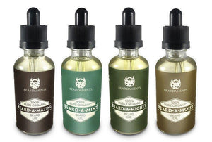 Beardaments Natural, Organic Beard Oils-Beard Oils-Beardaments-Beard-A-Mazing-Beardaments Beard Ornaments Glitter