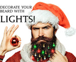 Don't Bust My Bulbs Sweater + Light Up Beard Ornaments Bundle-Beardaments-S-Beardaments Beard Ornaments Glitter
