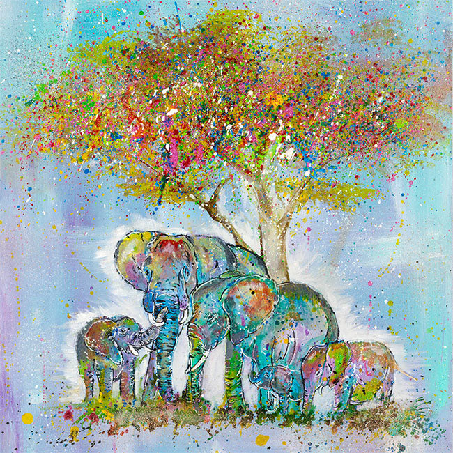 """Blessed"" Elephants"