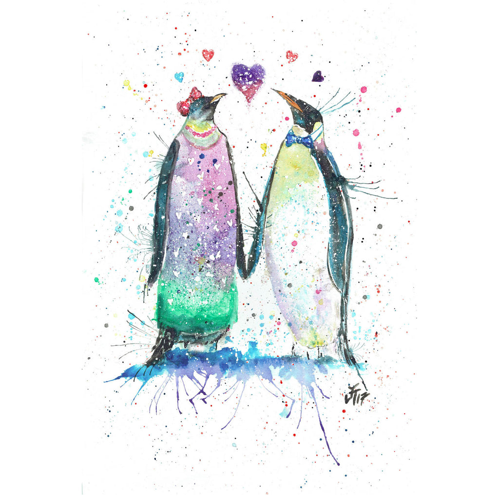 Valentines Penguins