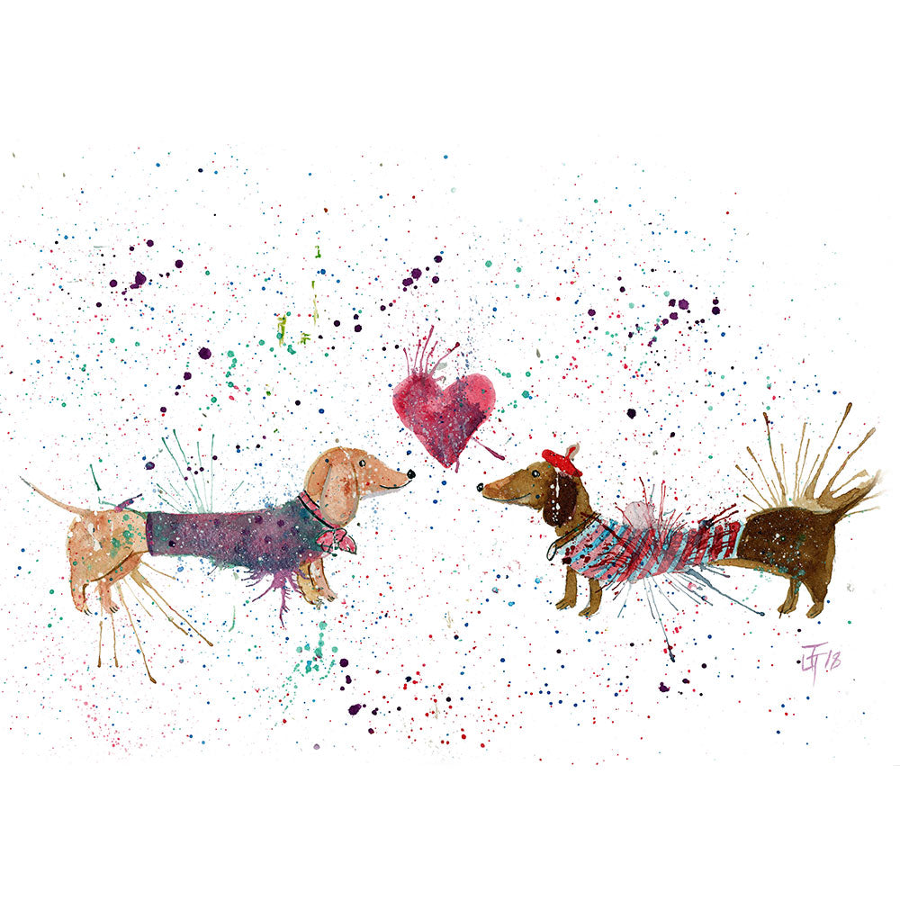 Sausage Dogs in Love