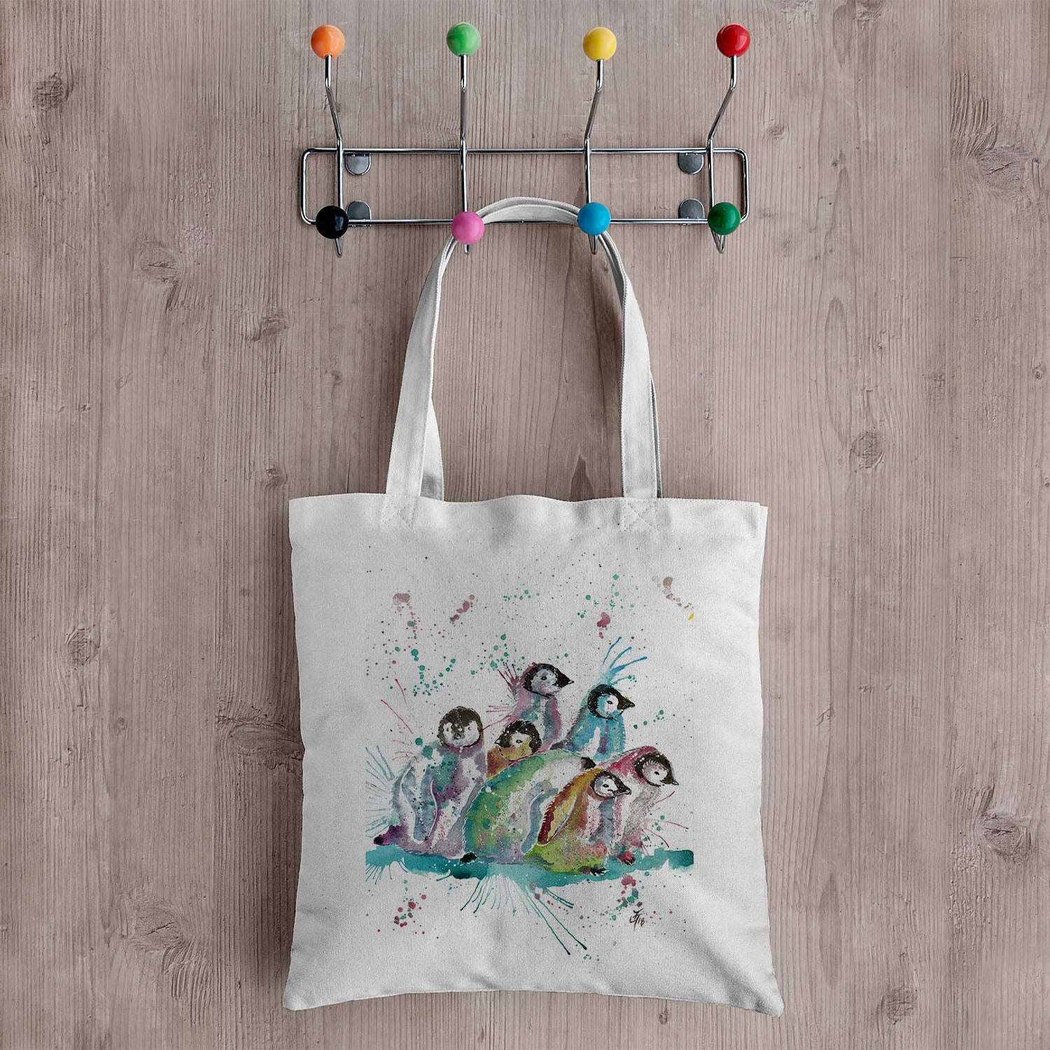 Jamie Taylor Art Canvas Totebags