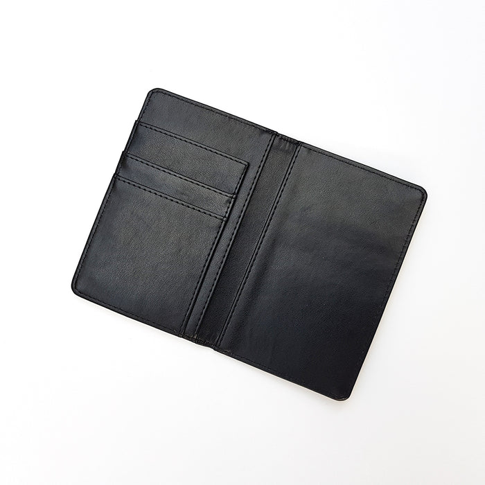 """Bruce Stag"" Passport Holder"
