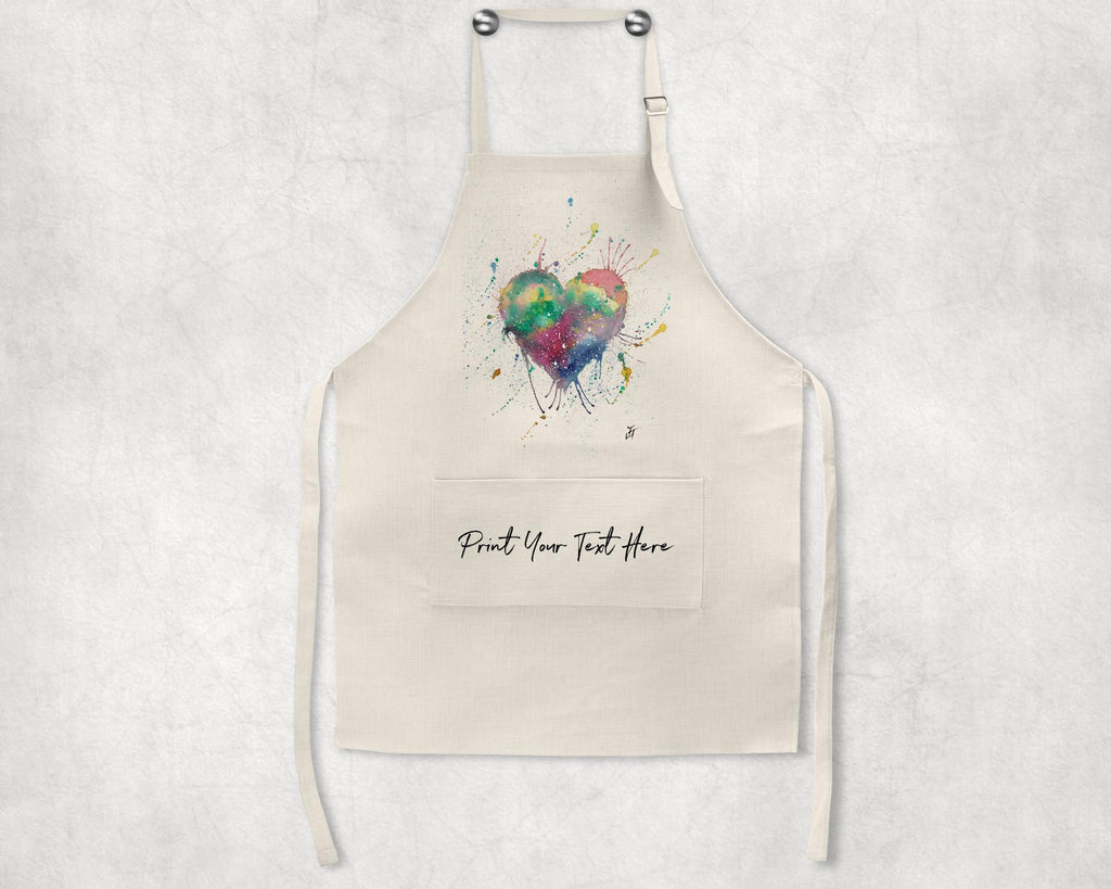 Heart Personalised Apron