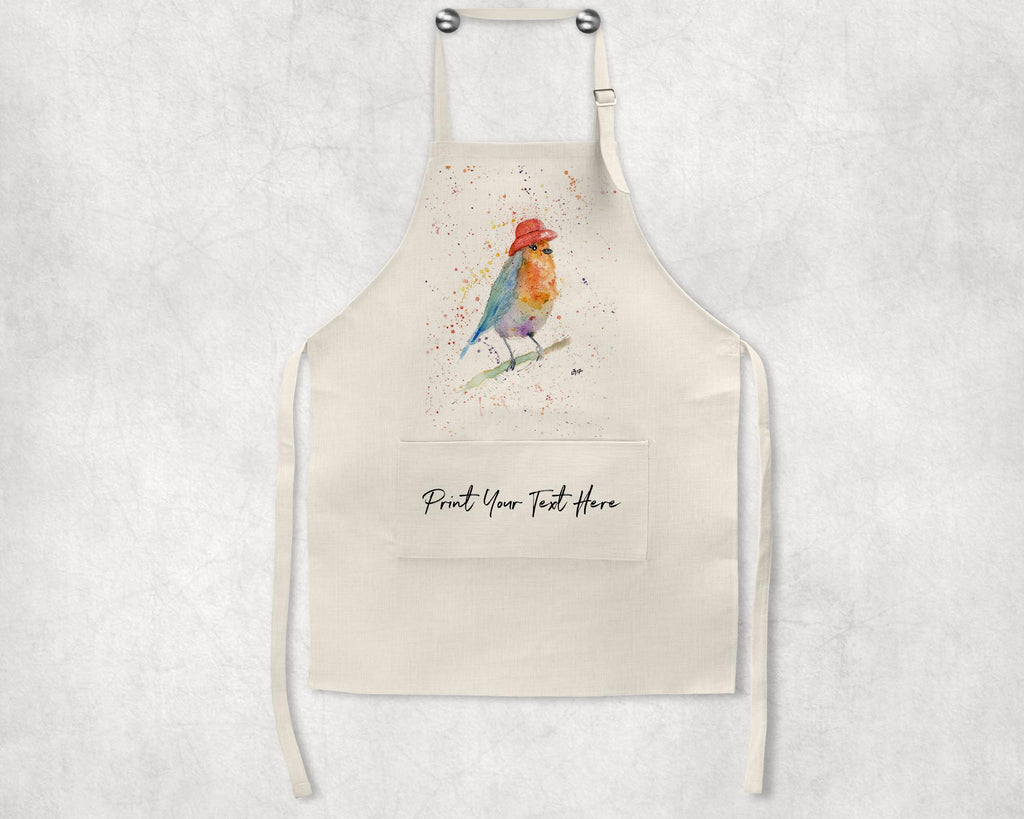 Mrs Robin Personalised Apron