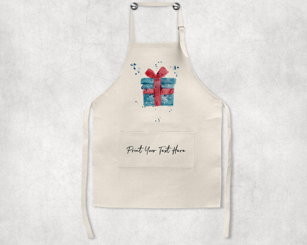Christmas Present Personalised Apron