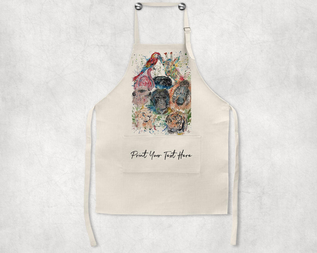 Zoo Personalised Apron