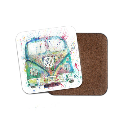 Rainbow Camper Coaster