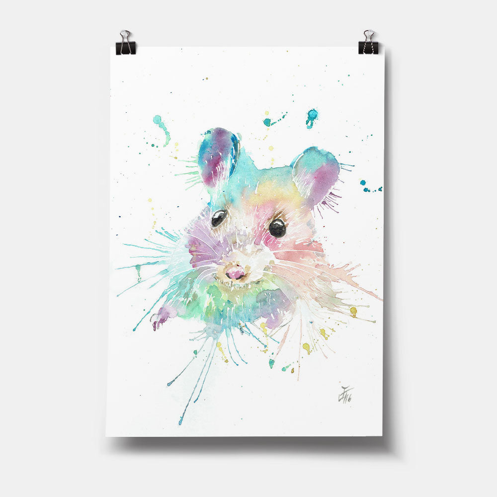 """Small"" Mouse Art Print"