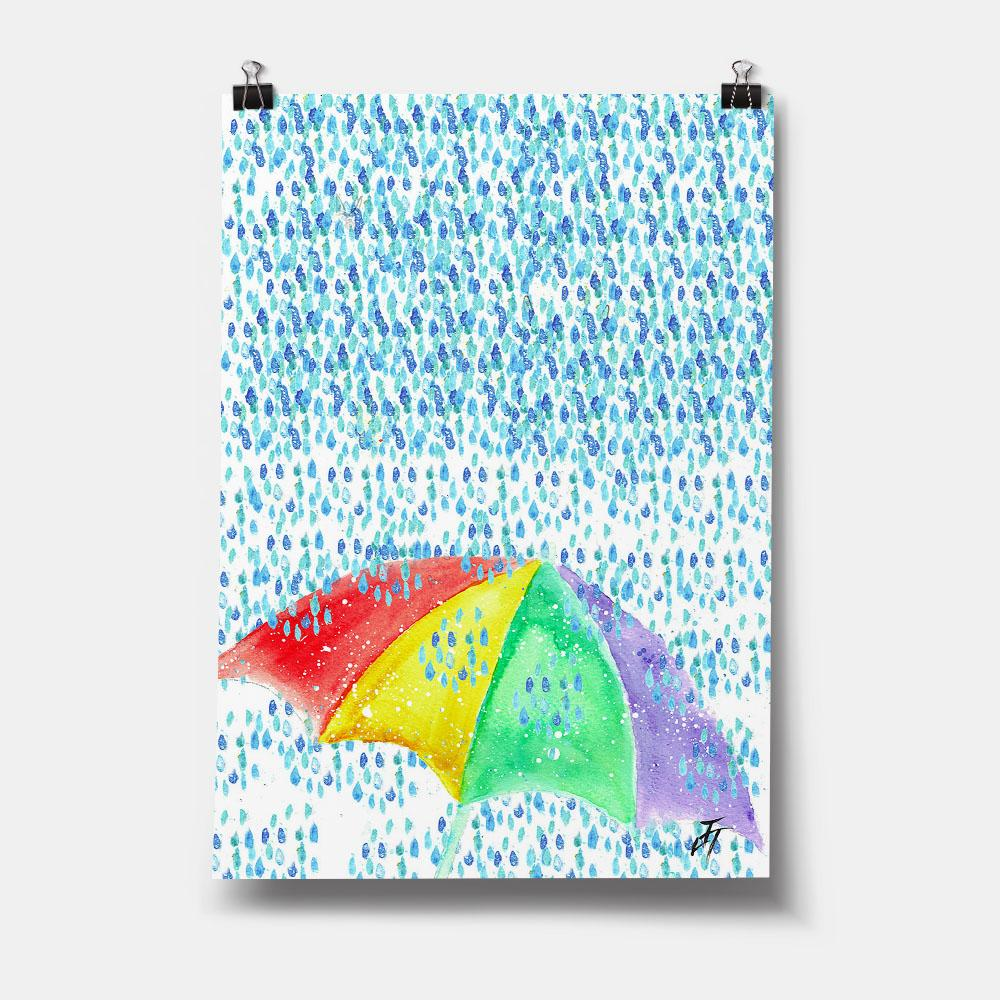 British Summer Art Print