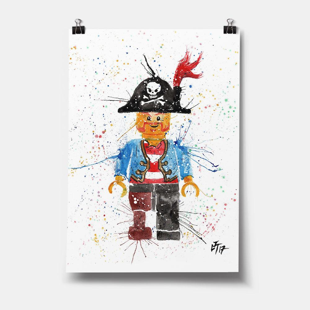 Arggghhh Pirate Art Print