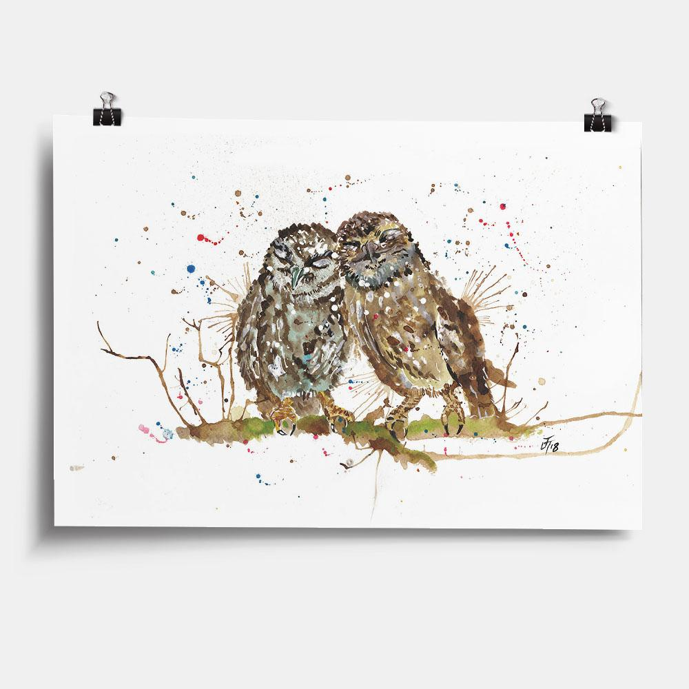 My Favourite Owl Art Print
