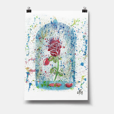 Magic Rose Art Print