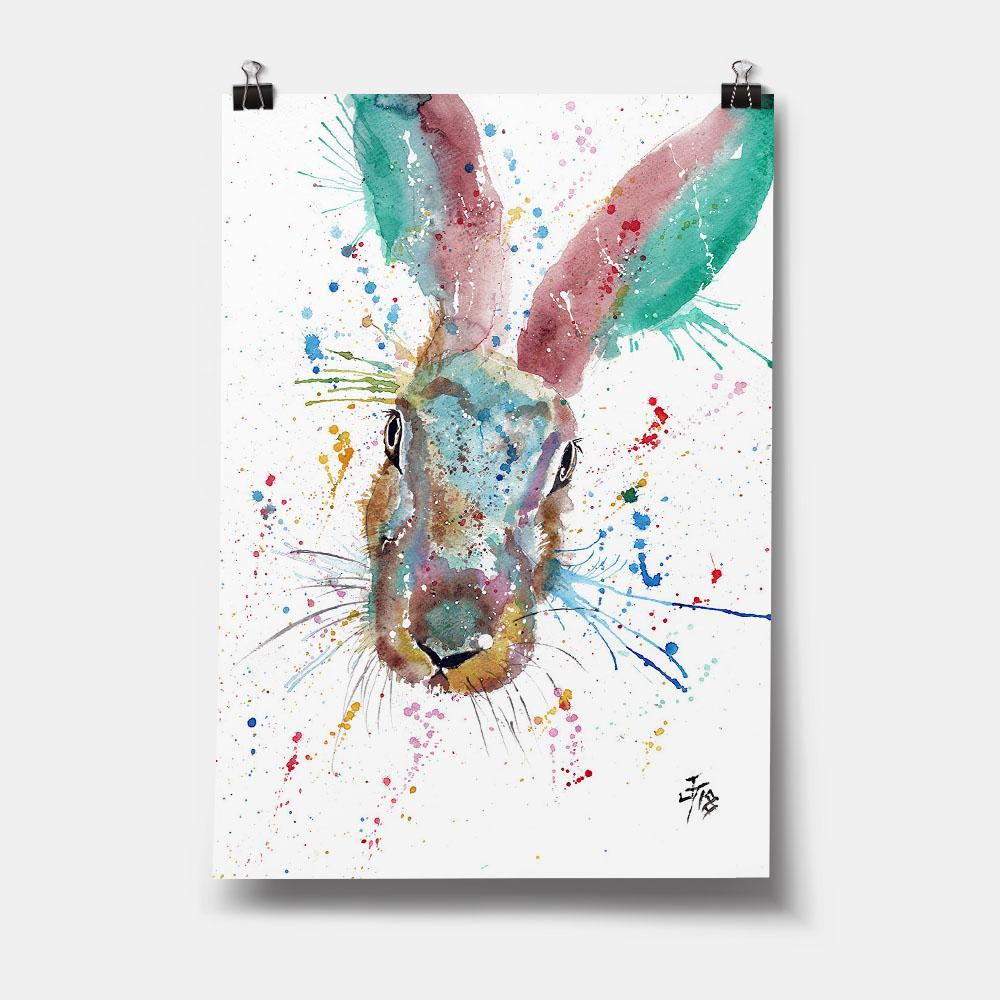 Riddle Hare Art Print