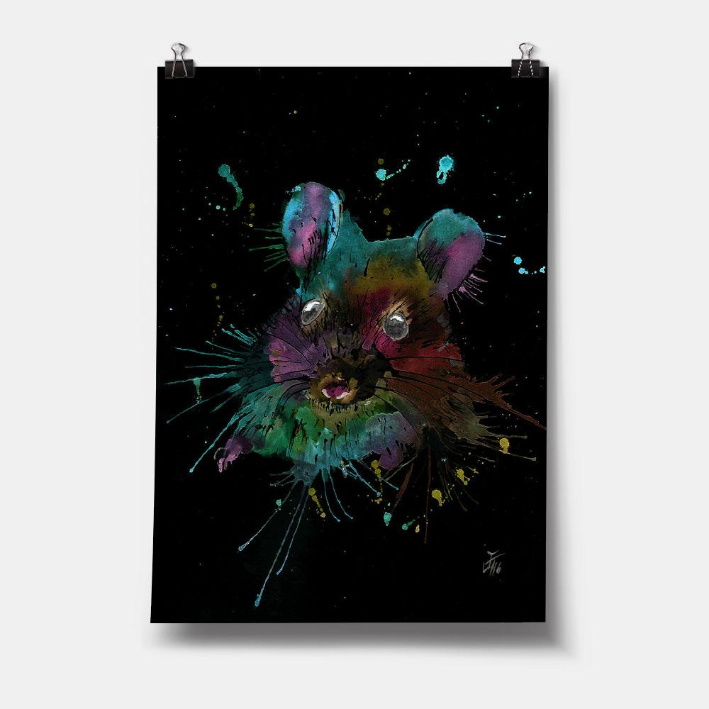 """Small"" Mouse Enchanted Art Print"