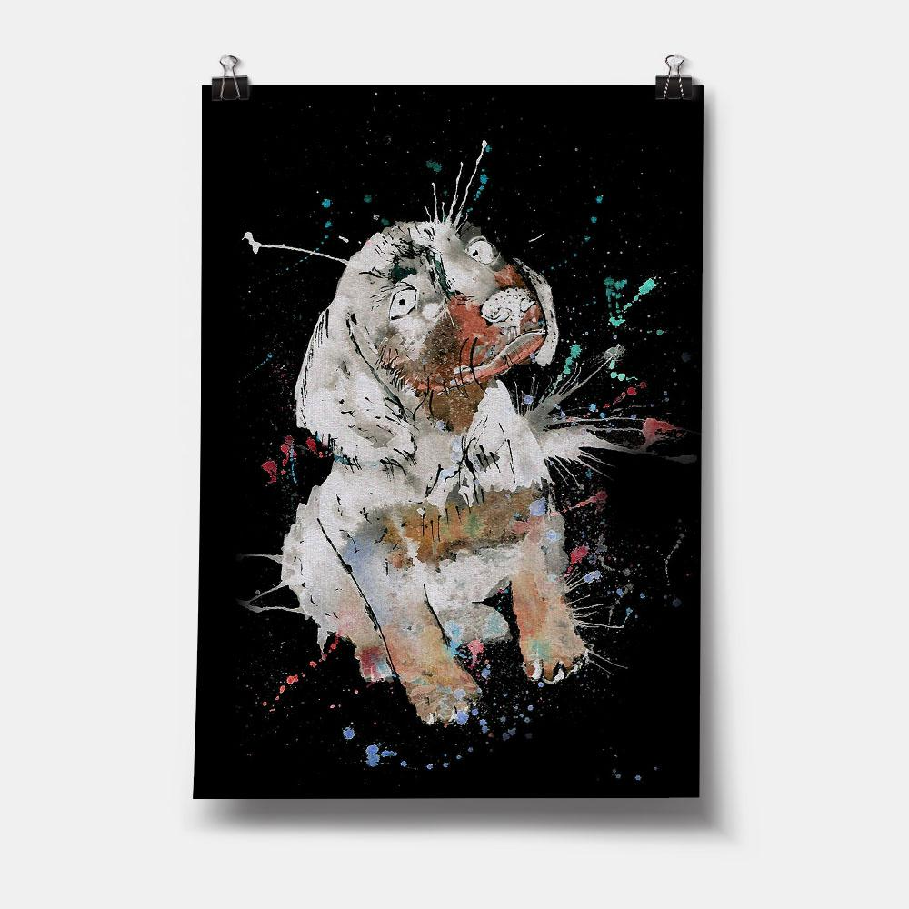 """Pierre"" Dachshund Enchanted Art Print"