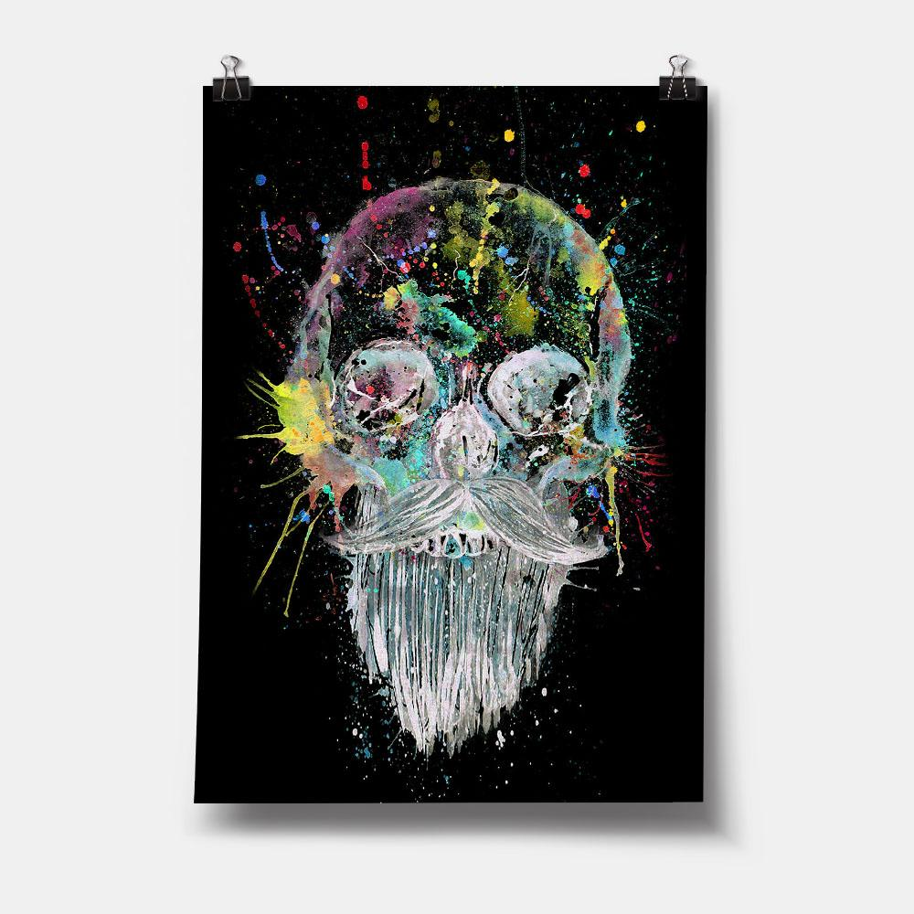 Bebeard Enchanted Art Print