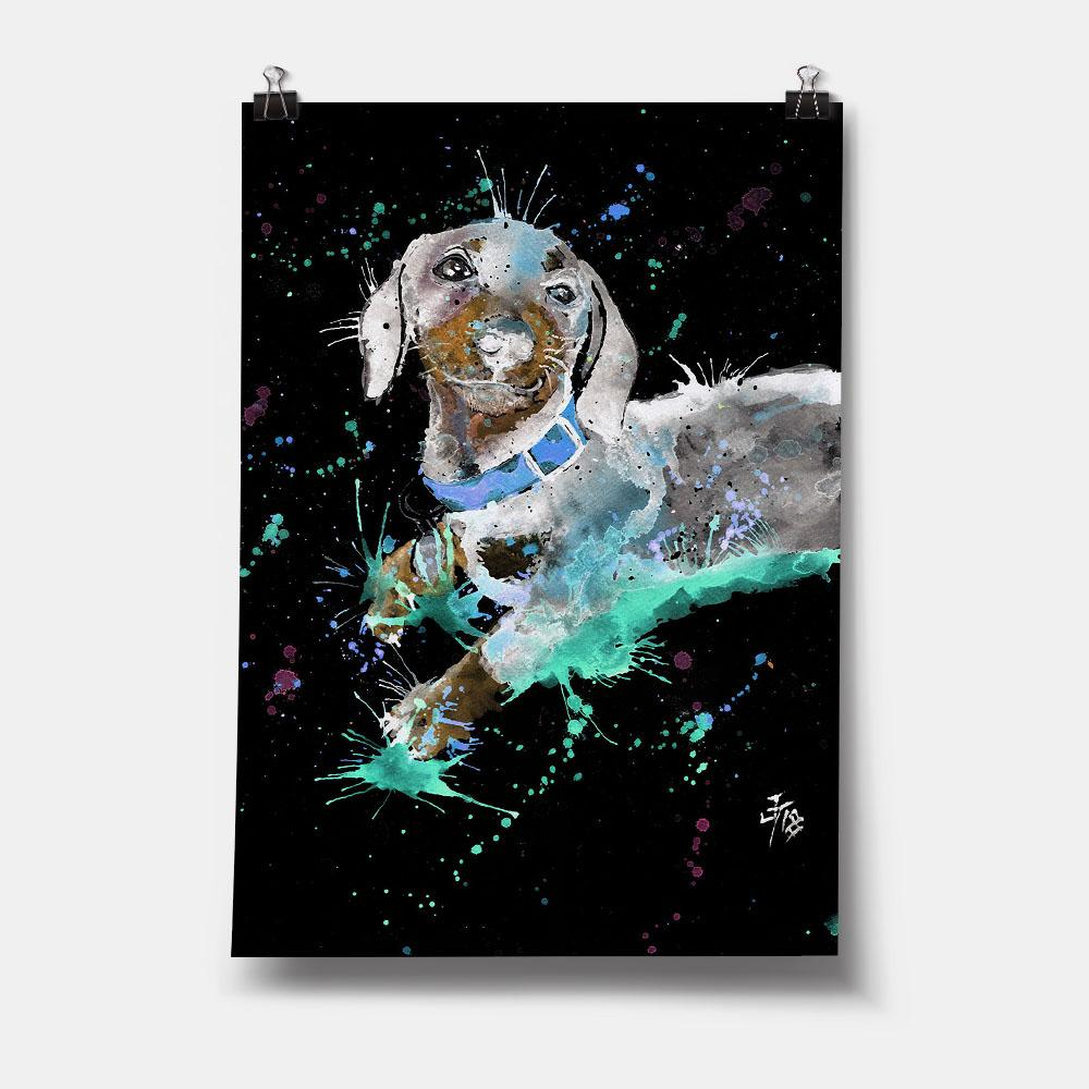 Michael Enchanted Art Print