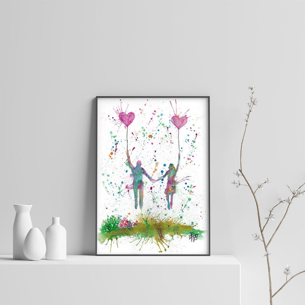 Fly Away With Me Art Print