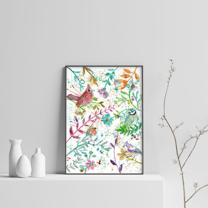 Hedgerow Art Print