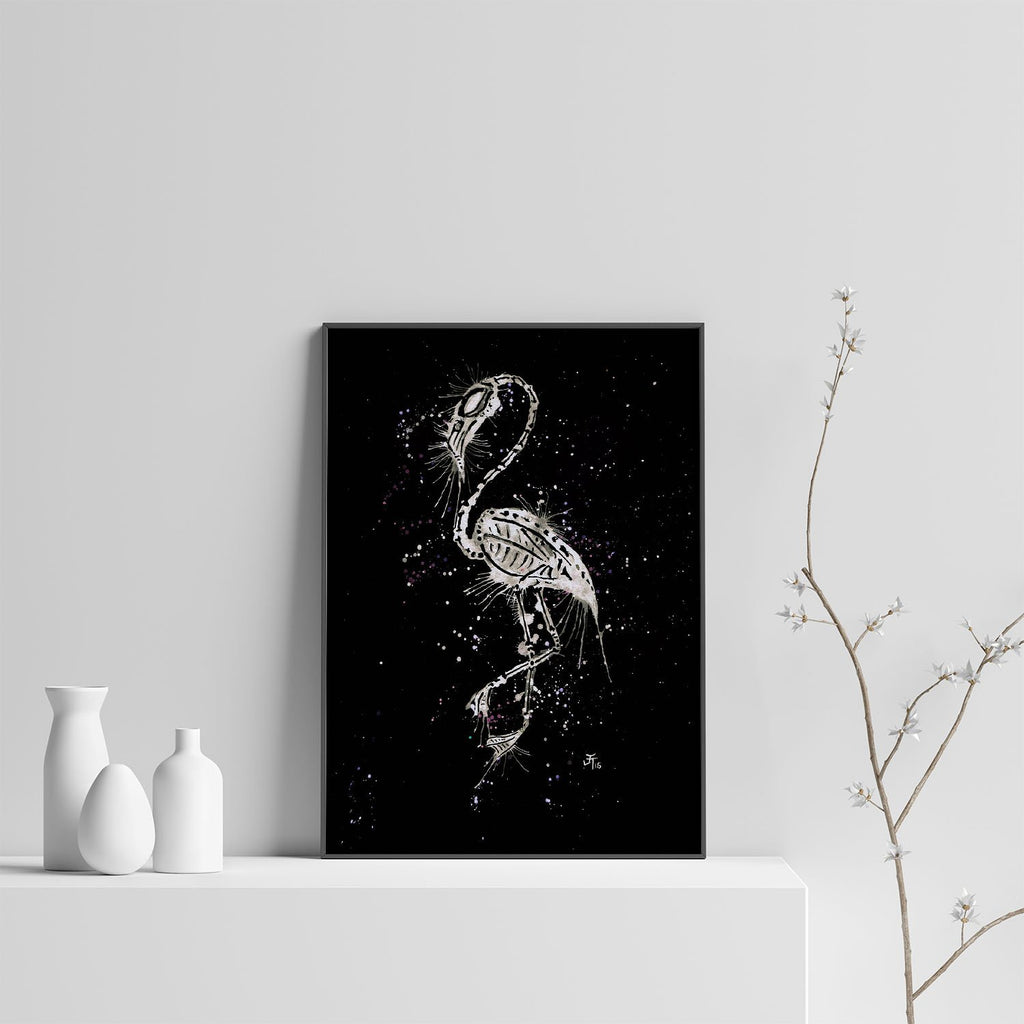 Bones Enchanted Art Print
