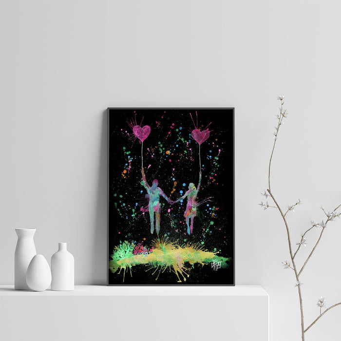 Fly Away With Me Enchanted Art Print