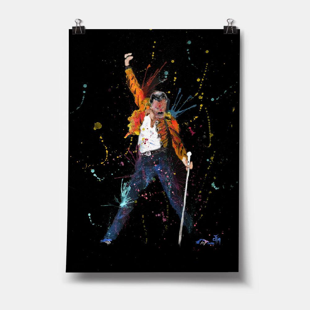 """Freddie"" Enchanted Art Print"