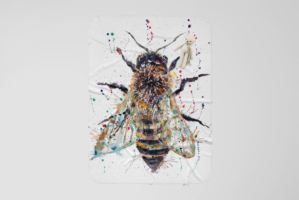 Honey Fleece Blanket