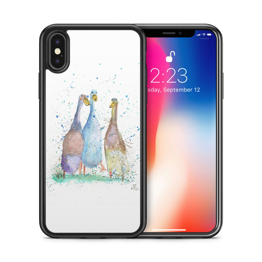 Three Runner Ducks Bumper Phone Case