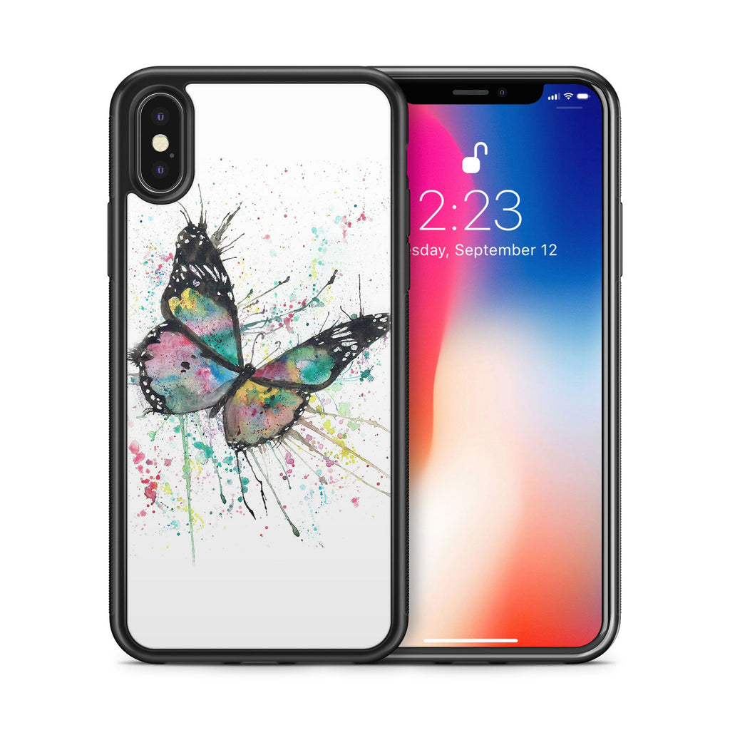 """Flutter"" Butterfly Bumper Phone Case"