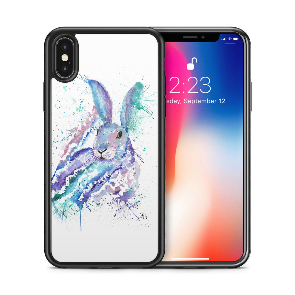 """Faraway"" Rabbit Bumper Phone Case"