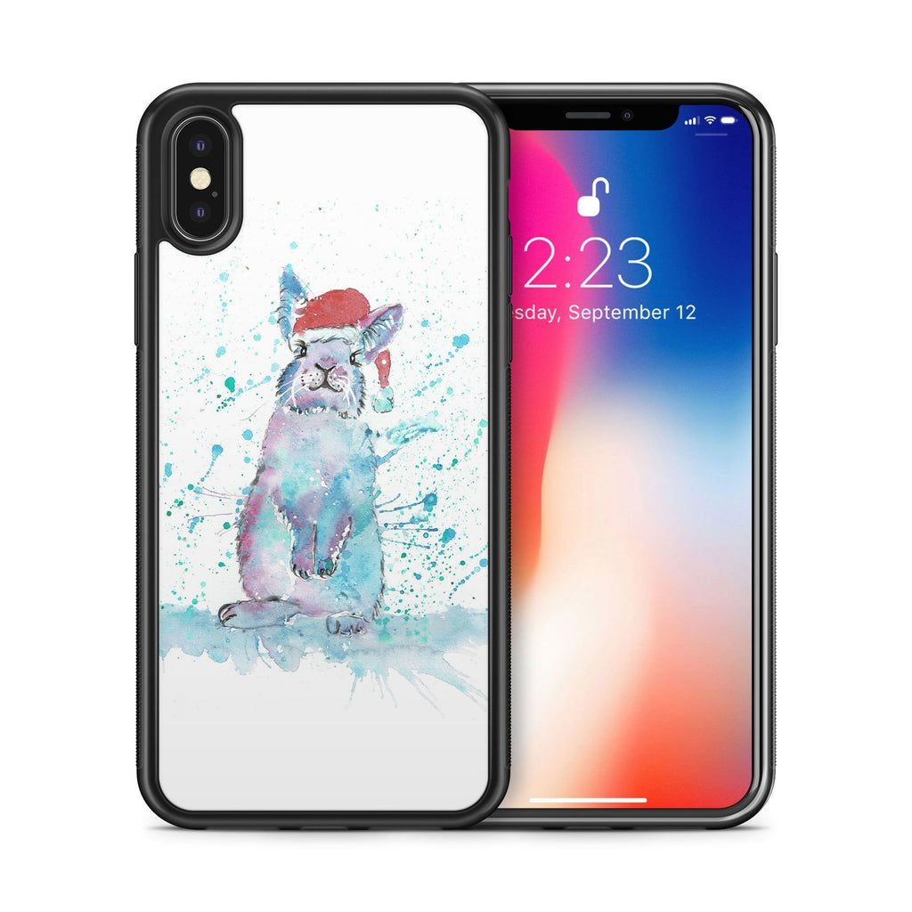 Christmas Bunny Bumper Phone Case