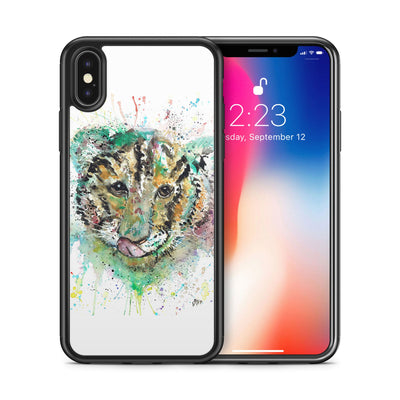 """Franklin"" Tiger Cub Face Bumper Phone Case"