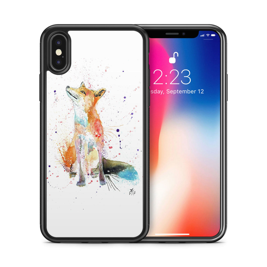 """Wishes"" Fox Bumper Phone Case"
