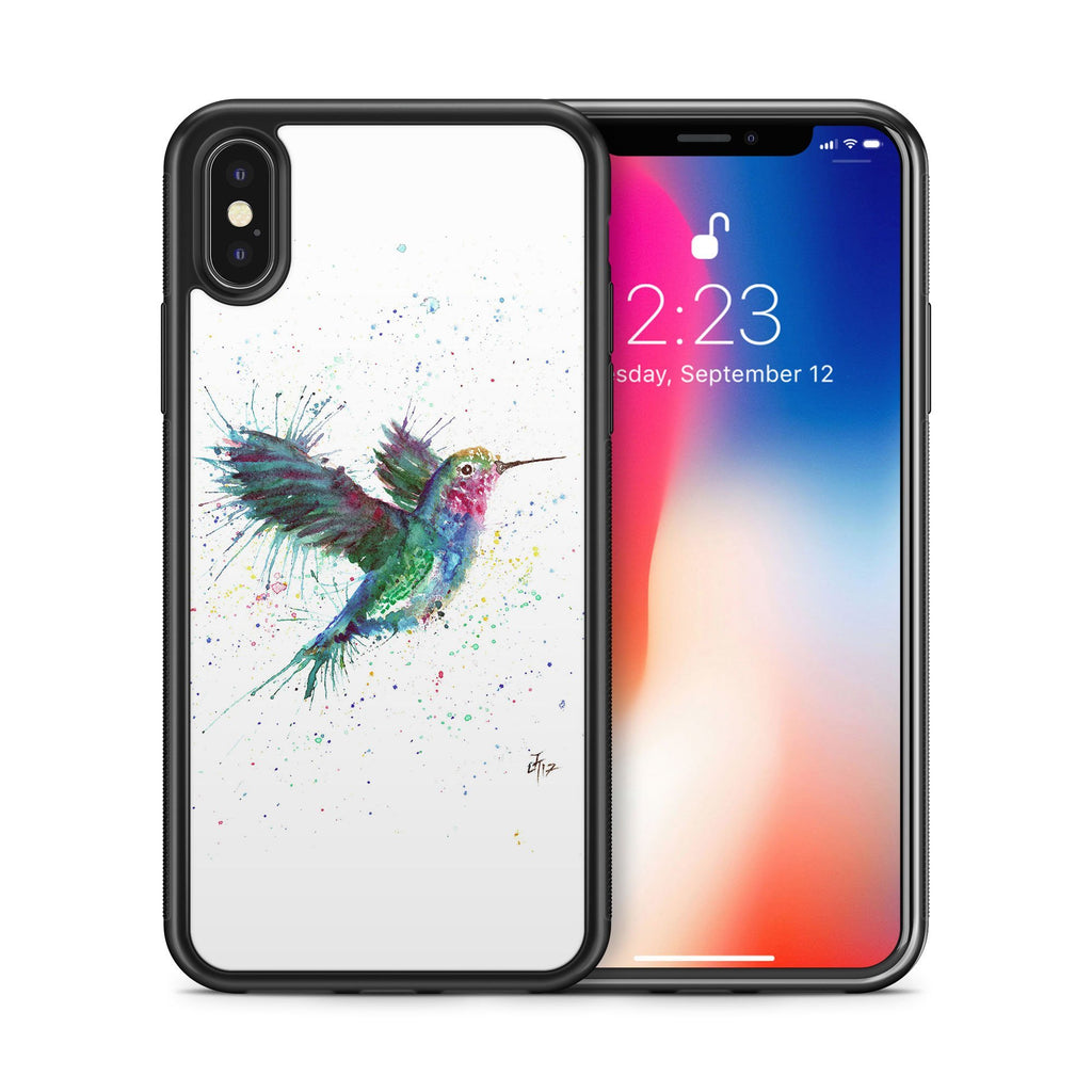 """Sue"" Humming Bird Bumper Phone Case"