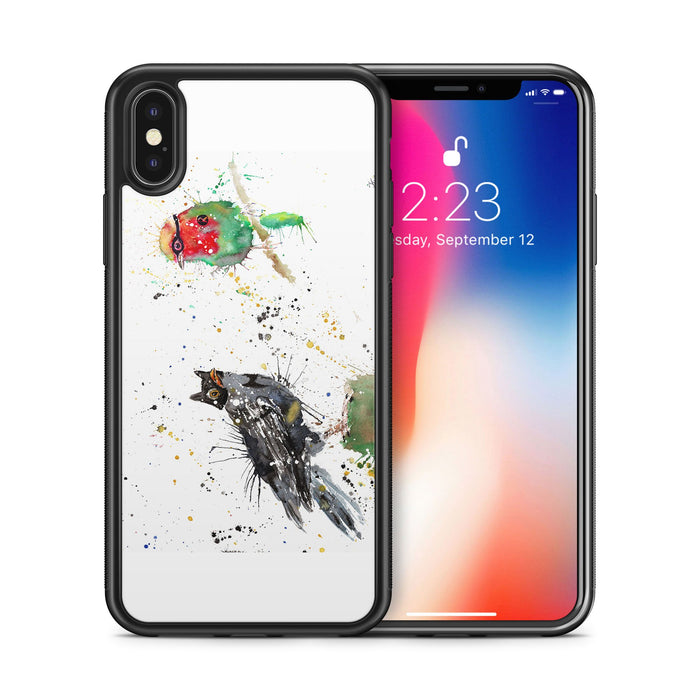 Blackbird & Robin Bumper Phone Case