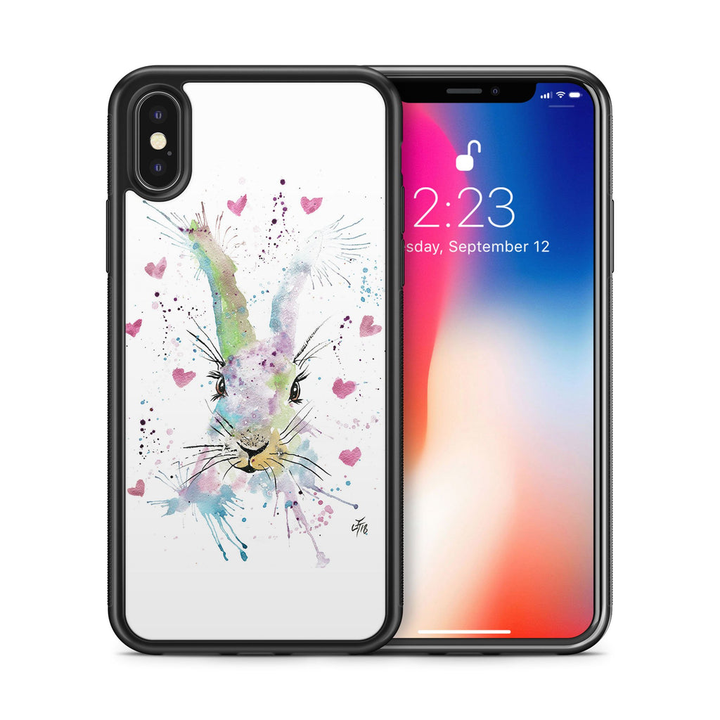 Valentines Bunny Bumper Phone Case