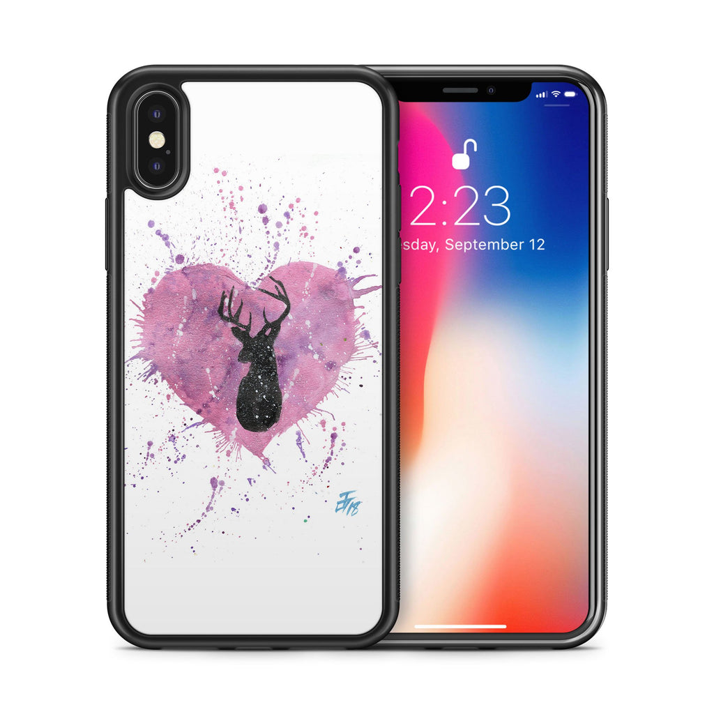 Stag Heart Bumper Phone Case