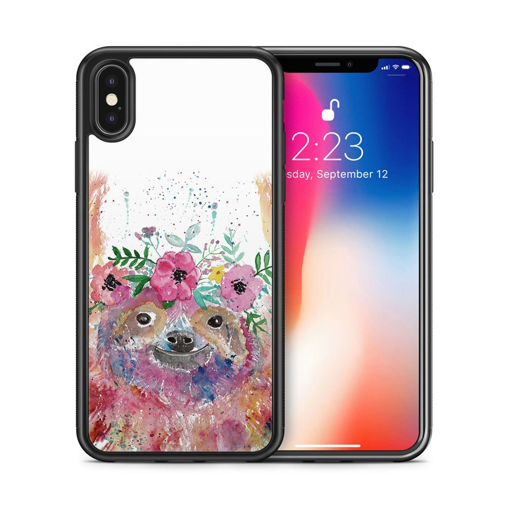 Hey Mrs Sloth Bumper Phone Case