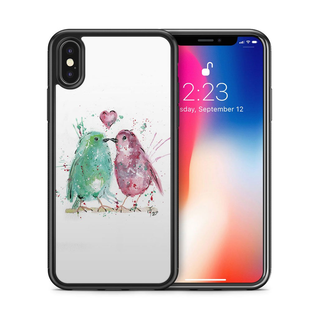 Tweet Heart Bumper Phone Case