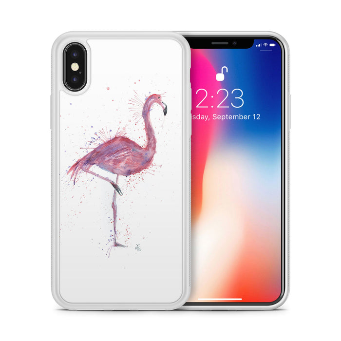 """Flo"" Flamingo Bumper Phone Case"