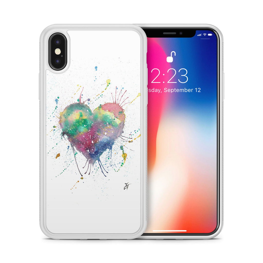 Heart Bumper Phone Case